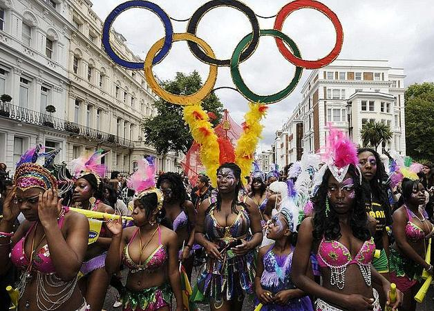 le carnaval de notting hill londres